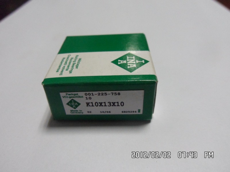 K10*13*10 Needle Roller Bearing K10*13*10mm Bearing Sizes Miniature Needle Roller Bearing
